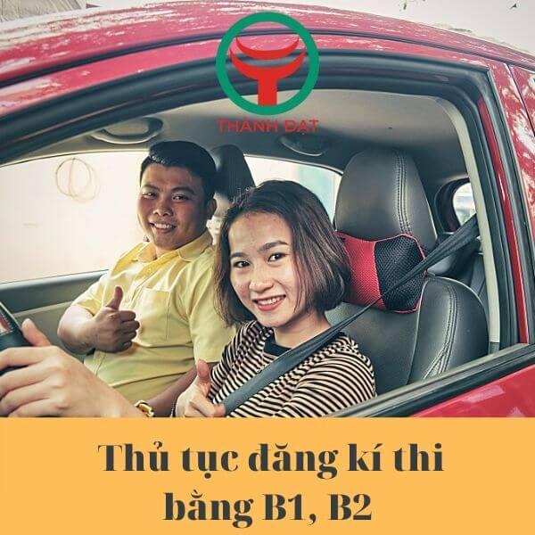 chi phí học lái xe B2 mới nhất năm 2020