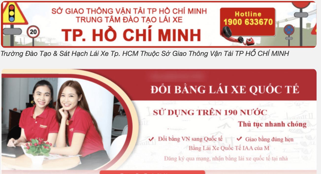 Top 5: Trường Đào Tạo & Sát Hạch Lái Xe TpHCM Thuộc Sở Giao Thông Vận Tải TP HỒ CHÍ MINH .