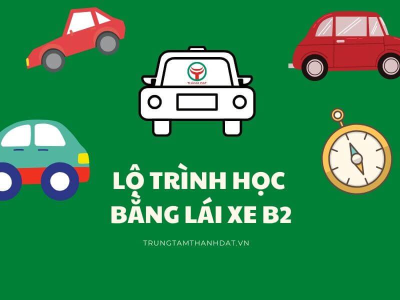 thi bằng lái ô tô b2