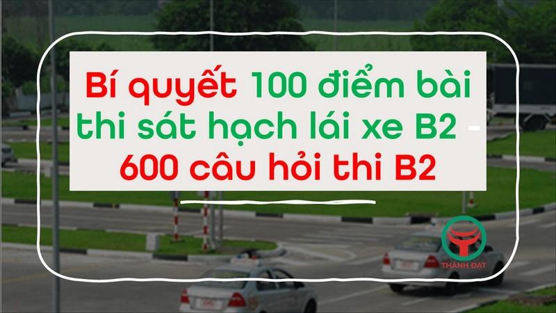 600 câu hỏi thi B2